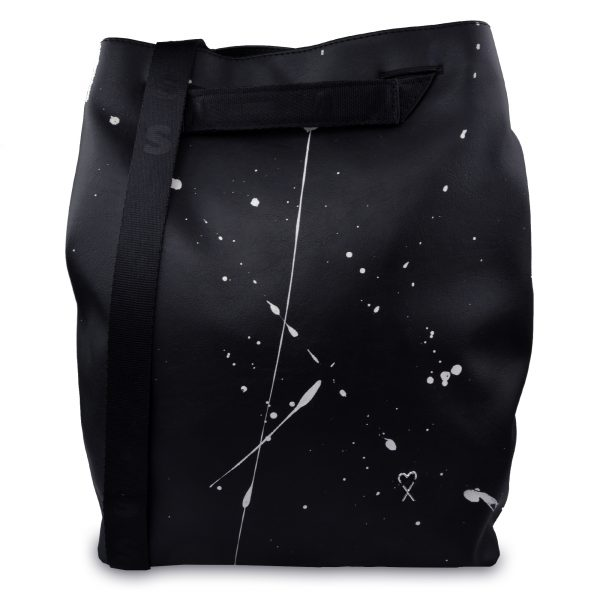 Splashed city bag