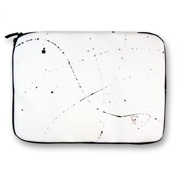 Obal na notebook 15' Splashed white
