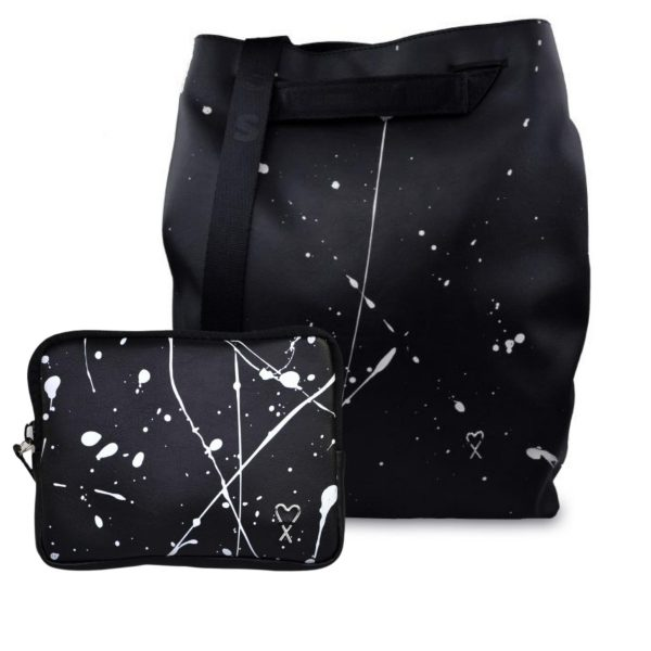 Foto - Splashed City backpack & wallet