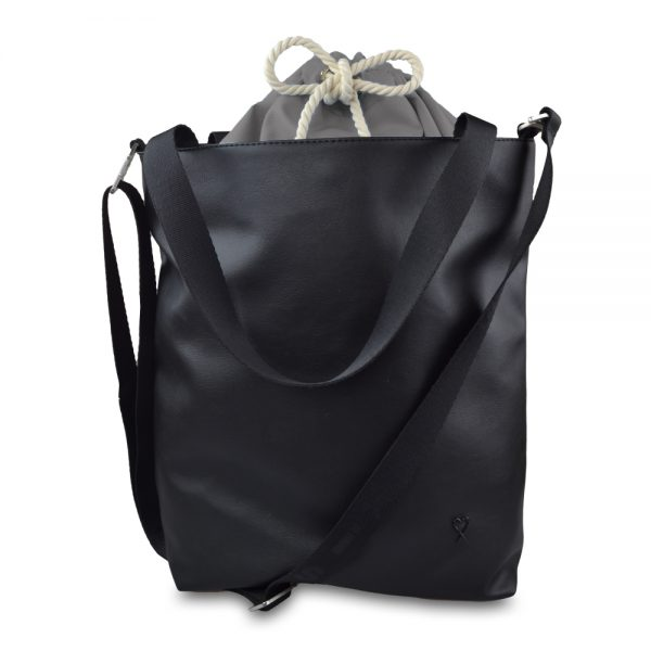 Foto - Bag Grey & black