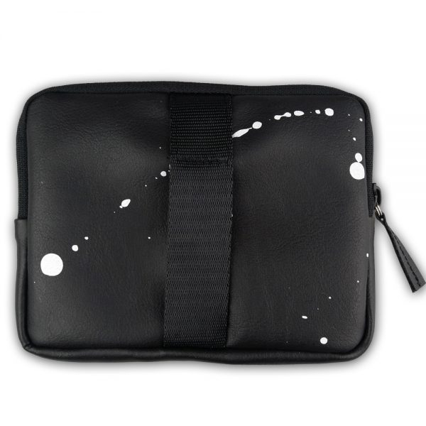 Foto - Splashed black wallet & bracelet